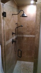 Custom Glass Shower Enclosure Scottsdale AZ