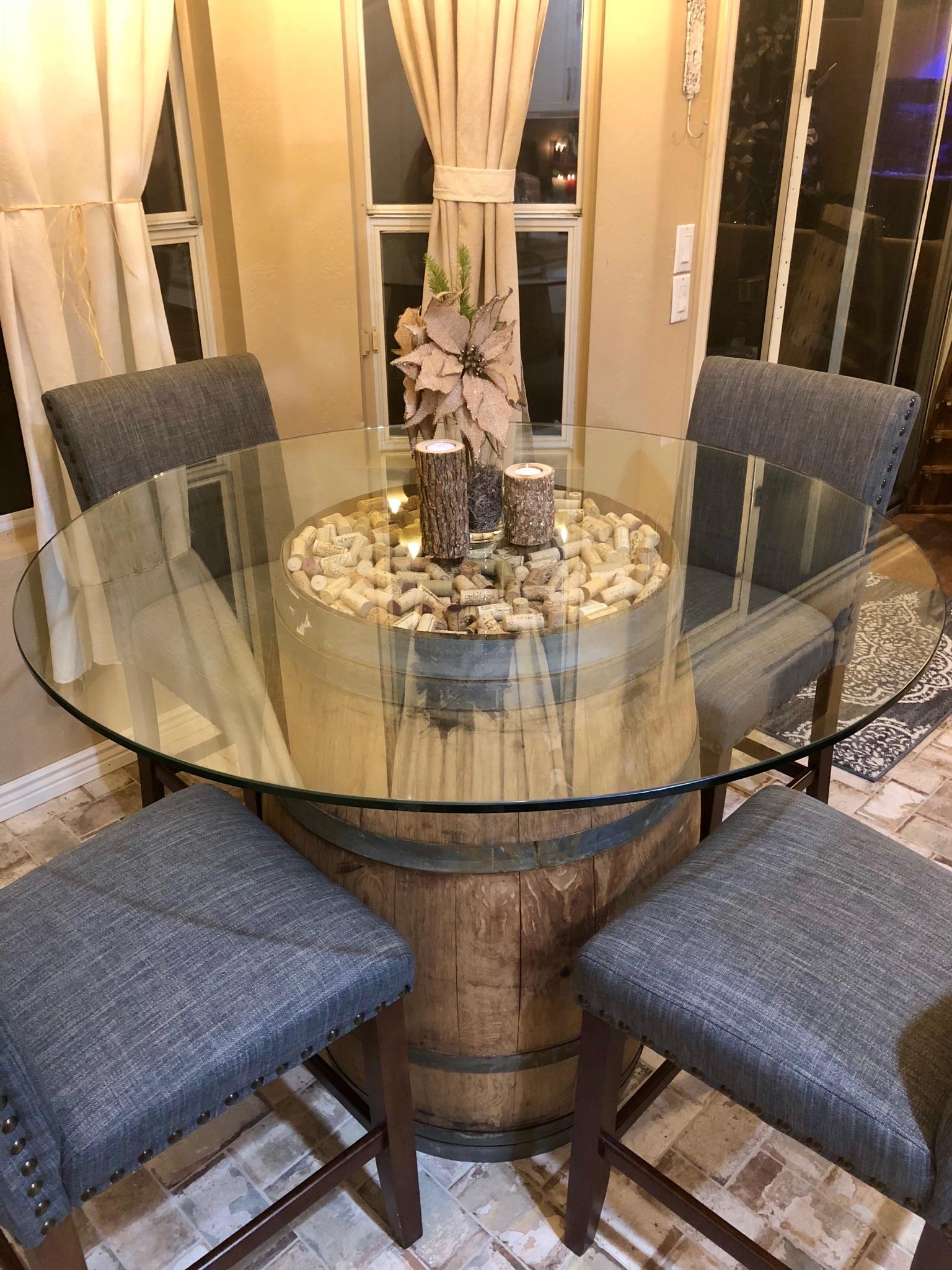 Custom Glass Table Tops Scottsdale AZ